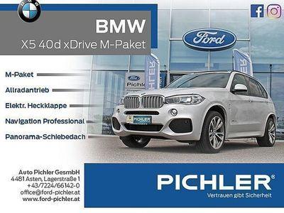 gebraucht BMW X5 xDrive40d 313PS Aut. M-PAKET/NAVI-PROFES./PANO. SUV / Geländewagen