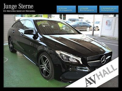 gebraucht Mercedes CLA180 Shooting Brake AMG Harman Night LED Navi Kamera