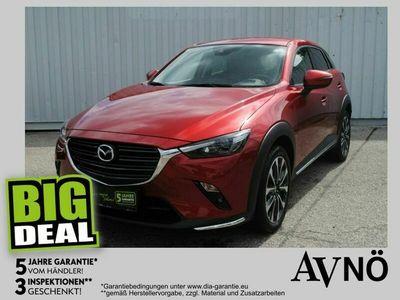 gebraucht Mazda CX-3 G150 AWD Revolution Aut. HeadUp Leder Kamera