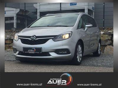 gebraucht Opel Zafira Österreich Edition 1,6i / 136 PS *LP -28%
