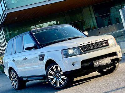 gebraucht Land Rover Range Rover Sport 3,0 TdV6 HSE**HOCHADEL*LUXUS-BOLIDE*WHITE-PEARL**