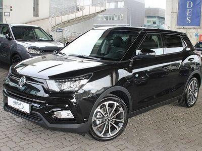 gebraucht Ssangyong Tivoli 1,6 2WD Icon Aut. NAVI LEDER 2-ZONEN SUV / Geländewagen