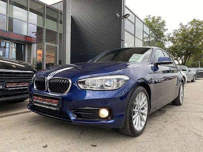 gebraucht BMW 116 d Sport Line, HiFi, Navi, LED, M-Lederlenkr., NL-5