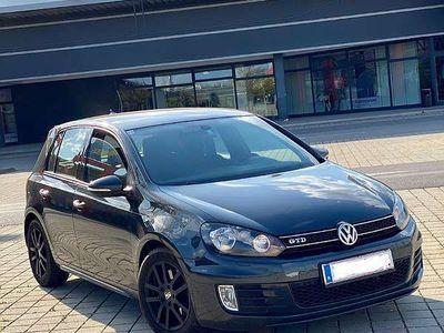 gebraucht VW Golf VI 2.0 GTD Klein-/ Kompaktwagen