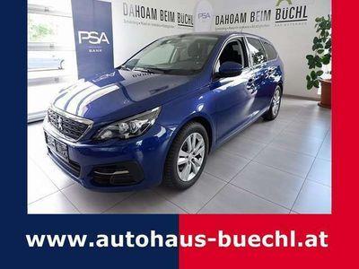 gebraucht Peugeot 308 SW 1,6 BlueHDI 100 Active S&S, NAVI, AHK