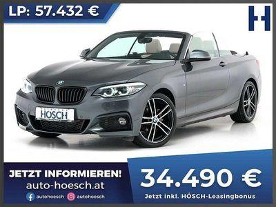 gebraucht BMW 218 218 d Cabrio M-Sport Aut.