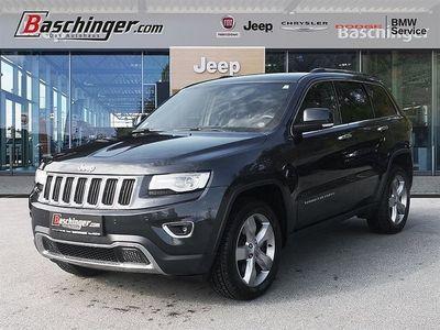 gebraucht Jeep Grand Cherokee 3,0 V6 CRD Limited AV3500kg/Stammkundenvorbesitz