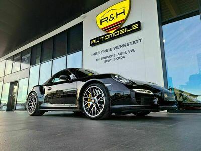 gebraucht Porsche 991 Turbo S Cabriolet/Keramik/Sitzlüftung/Approved