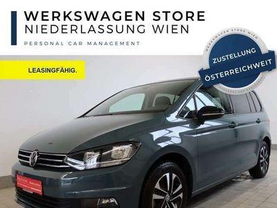 gebraucht VW Touran 2.0 TDI DSG IQ.DRIVE 5-J-GARANTIE 7-SITZE Navi