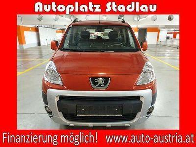 gebraucht Peugeot Partner Tepee Outdoor 1,6 HDi 115 FAP *FINANZIE... Kombi / Family Van