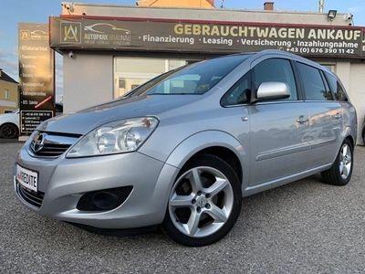 gebraucht Opel Zafira 1,7 CDTI Ecoflex Edition DPF Kombi / Family Van,