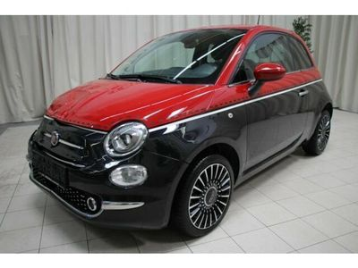 used Fiat 500 ECO 1,2 69 Lounge Vesuvio Schwarz/Dach Rot