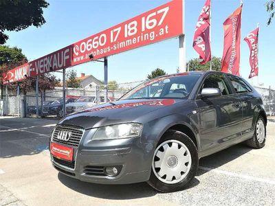 gebraucht Audi A3 Attraction 1,9 TDI DPF/Klimaautmat./sofort Kredit/ Klein-/ Kompaktwagen,