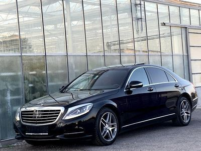 gebraucht Mercedes S350 S-KlasseBlueTEC Aut. ** Lang-Version / Panoramadach / MWsT ausweisbar ** Limousine