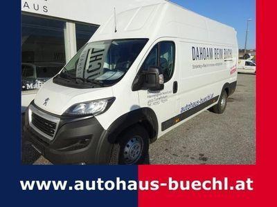 brugt Peugeot Boxer 3500+ L4H3 2,0 HDi 163 S&S Euro6 verst. Fahrwerk