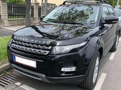 used Land Rover Range Rover evoque TD4 Allrad Diesel SUV / Geländewagen,