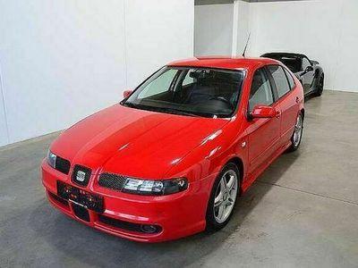 gebraucht Seat Leon Cupra 1,9 Sport TDI *1Besitz*ALLRAD*150PS