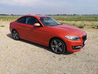 gebraucht BMW 220 2er-Reihe d Aut., Sport Edition, Österreich-Paket Sportwagen / Coupé,