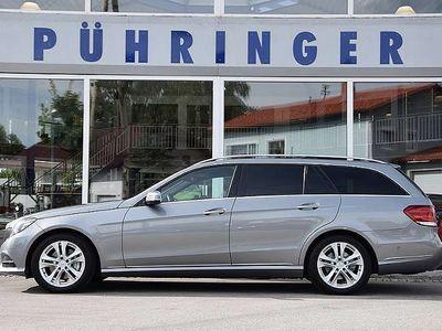 gebraucht Mercedes E250 E-KlasseCDI T 4MATIC Avantgarde Aut. *Navi*360°Ka... Kombi / Family Van