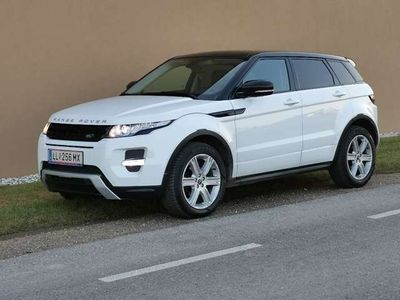 gebraucht Land Rover Range Rover evoque 4x4 Automatik Dynamik
