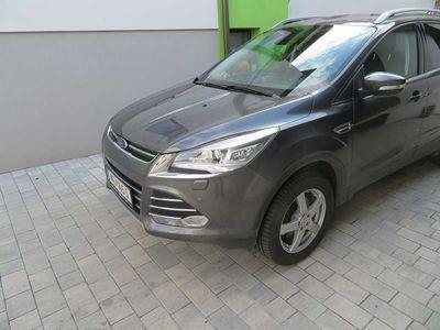 gebraucht Ford Kuga 2.0 TDCI Titanium 4x4 Allrad Navi Anhängevor SUV / Geländewagen,