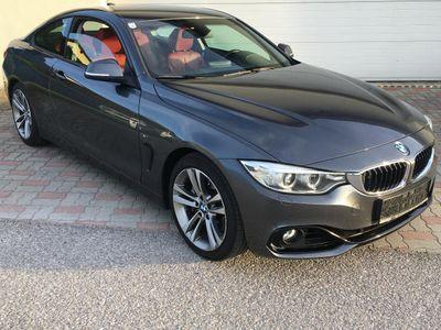 gebraucht BMW 435 4er-Reihe i Coupe Sport-Paket Aut. 1 Besitz Sportwagen / Coupé,