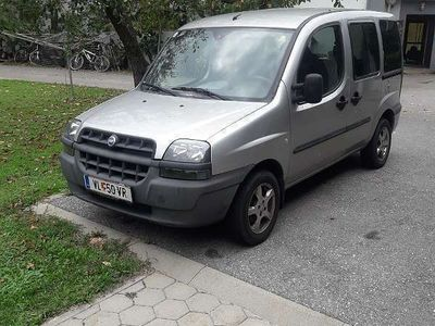 gebraucht Fiat Doblò 1,9 JTD Kombi / Family Van,