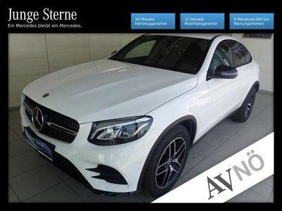 gebraucht Mercedes GLC250 d 4MATIC Coupé Knieairbag*Allrad LED Coman