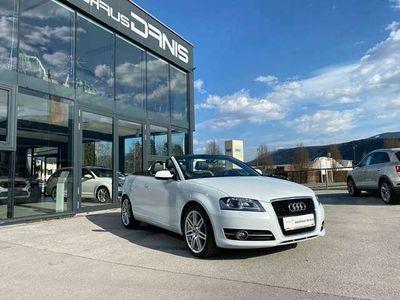 gebraucht Audi A3 Cabriolet S-Line TDI S-tronic Xenon, 18'', Stdhzg.