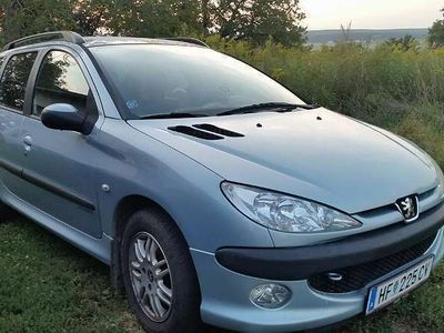 used Peugeot 206 SW SP.LINE 1.4 Kombi / Family Van,