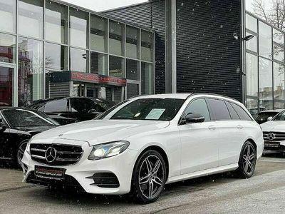 "gebraucht Mercedes E220 T-Modell AMG-Line 4MATIC Aut., LED, Kamera, 19"""
