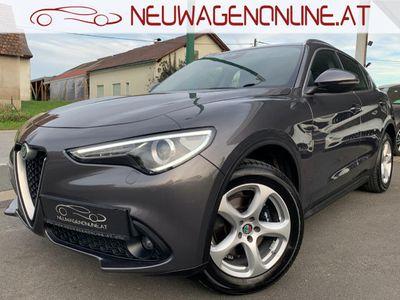 gebraucht Alfa Romeo Stelvio Super 2,2 Diesel Automatik AWD Jungwagen