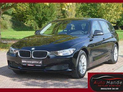gebraucht BMW 320 3er-Reihe d Touring +NAVI Groß+SHZ+TEL+AHK+ Kombi / Family Van
