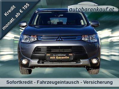 gebraucht Mitsubishi Outlander 2,2 DI-D Instyle Aut.