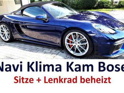 gebraucht Porsche 718 Boxster Spyder, Kamera, LED, Bose,Sitz+Lenkrad beheizt
