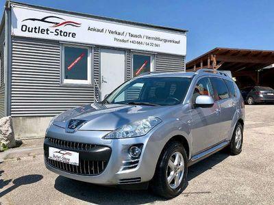 gebraucht Peugeot 4007 2,2 HDi 160 FAP Premium*7Sitzer*Leder*Xenon*AHK* SUV / Geländewagen,