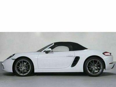 gebraucht Porsche 718 Boxster Connect Lederpaket PDLS Schalter