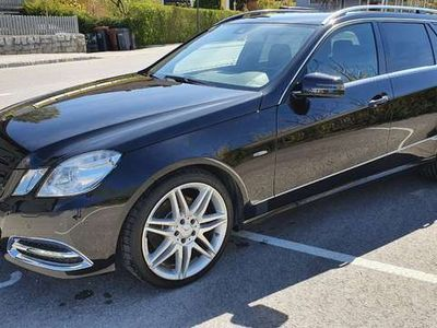 gebraucht Mercedes E350 CDI 4-MATIC T-Mod.(W 212) AMG - line
