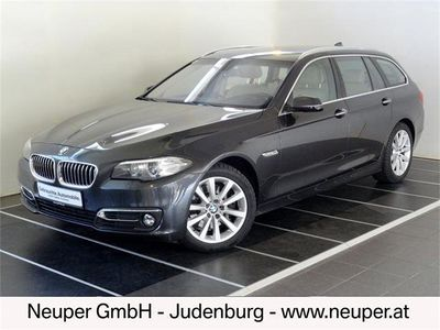 gebraucht BMW 530 5er-Reihe d xDrive Österreich-Paket Touring Aut. Kombi / Family Van,