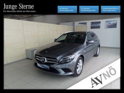 gebraucht Mercedes C220 T d 4Matic Avantgarde Allrad Navi Kamera Au