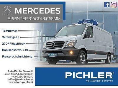 gebraucht Mercedes Sprinter 316 CDI 3,5t / 3.665 mm