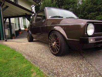 gebraucht kompakt kleinwagen vw golf i 1980 km in burgkirchen. Black Bedroom Furniture Sets. Home Design Ideas
