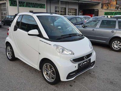gebraucht Smart ForTwo Cabrio passion softouch/NAV/LEDER/Brabus-ALU/KLIMA