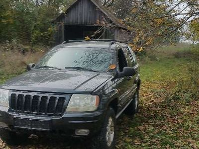 gebraucht Jeep Grand Cherokee 3,1 td WJ mit Schiebedach SUV / Geländewagen