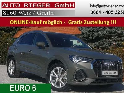 gebraucht Audi Q3 40 TDI quattro S line ACC Matrix-LED AHK Standhzg