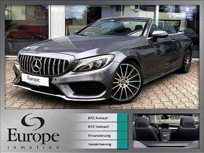 "gebraucht Mercedes C220 C-Klassed Cabrio AMG / 19"" / Airscarf / Kamera / LED Cabrio / Roadster,"
