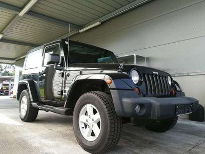 gebraucht Jeep Wrangler 3,8 V6 Sahara Hardtop + Softtop Aut.