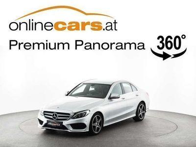 gebraucht Mercedes C200 C-Klassed Aut. AMG-LINE LEDER LED NAVI Limousine,