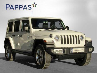 gebraucht Jeep Wrangler Unlimited Sahara 2,0 GME Aut.