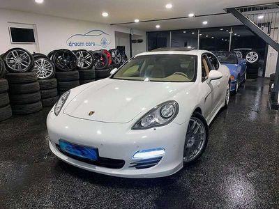 gebraucht Porsche Panamera 3,0 Diesel Aut. *LUFTFAHRWERK*SCHIEBEDACH*WEISS*